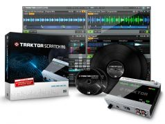 Native Instruments Traktor Scratch A6 Звуковая карта