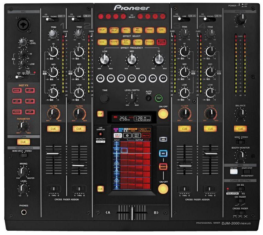 Pioneer DJM-2000Nexus DJ Controller Vista
