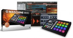 Native Instruments Maschine Mikro MkII Blk midi контроллер