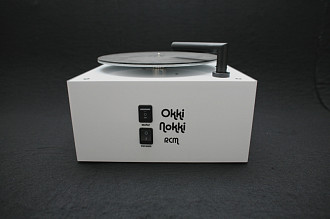 Okki Nokki Vacuum Cleaning Machine White машина для чистки винила