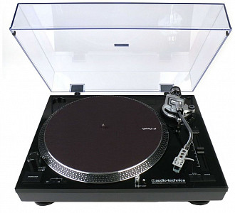 AUDIO-TECHNICA AT-LP120BK-USBHS10