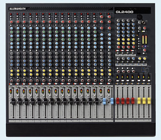 Allen & Heath GL2400-16 микшерный пульт