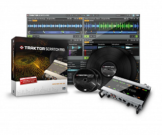Native Instruments Traktor Scratch A10 Звуковая карта