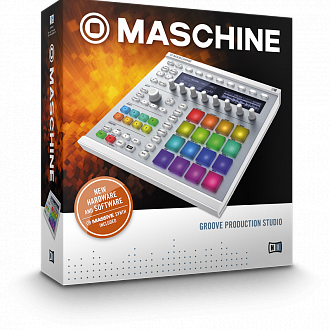 Native Instruments Maschine MkII Wht midi контроллер