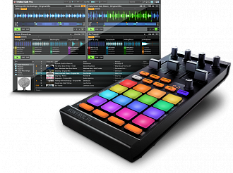 Native Instruments Traktor Kontrol F1 dj контроллер